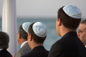 Yarmulkes or Kippot? (photo: David Berkowitz)