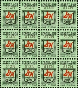 Remember Green Stamps?