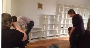 Assembling the Shelves