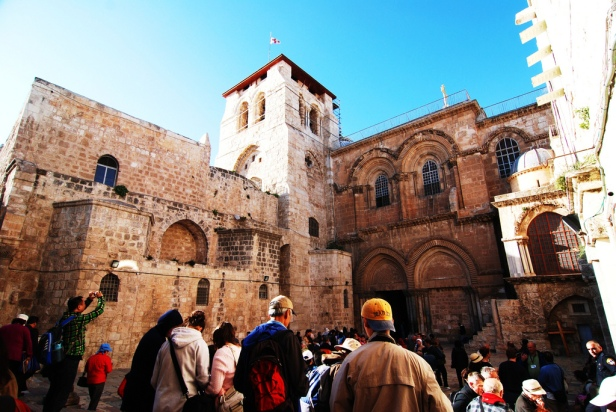 Church of the Holy Sepulchre in Jerusalem - What happened here?