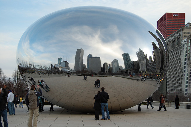 Today, Chicago was my oyster.