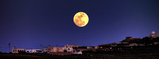 Passover will arrive when the moon is full again.