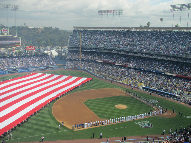 Dodger Stadium, Opening Day 5773