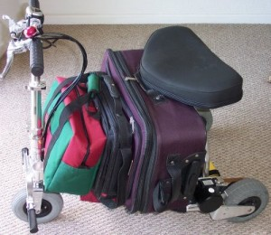 Getting ready to travel