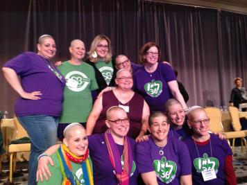 Women Rabbis Shave for the Brave