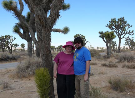 With Jim, at Joshua Tree National Park