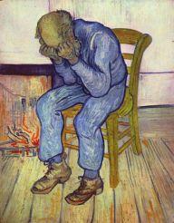 """Van Gogh """"Sorrowing Old Man"""" 1890"""