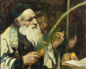 Lulav by Leopold Pilichowski (1869–1933)