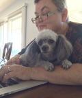 Rabbi and Dog