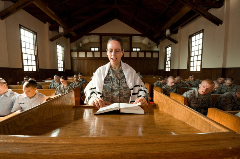 Rabbi Captain Sarah Schecter