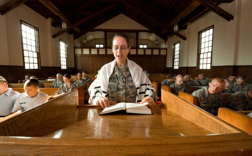 Rabbi Captain Sarah Schecter