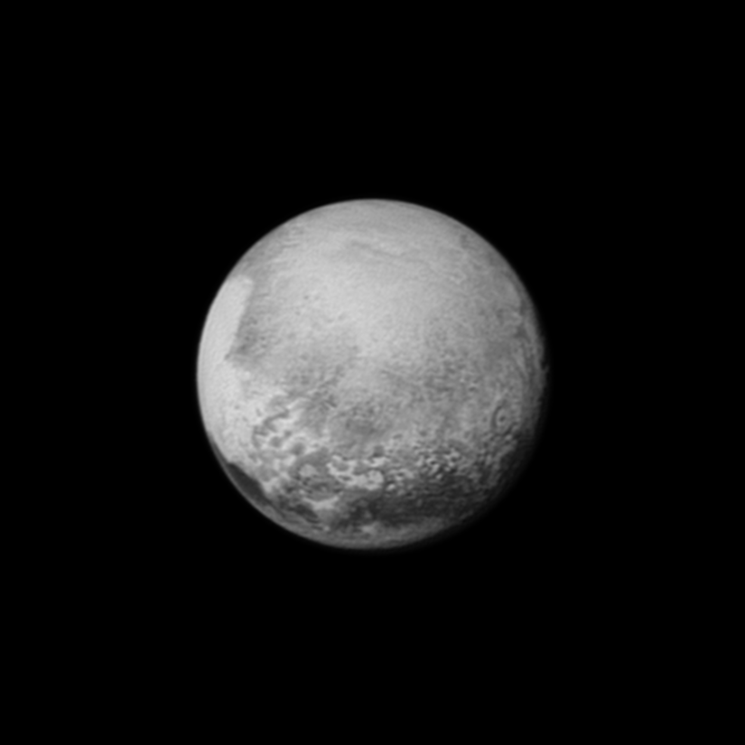 A Blessing for the Images from Pluto