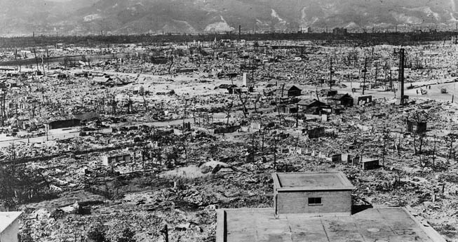 Upon the 70th Anniversary of Hiroshima & Nagasaki