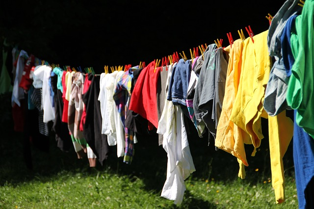 Clothes line https://pixabay.com/en/clothes-line-laundry-colorful-wash-615962/