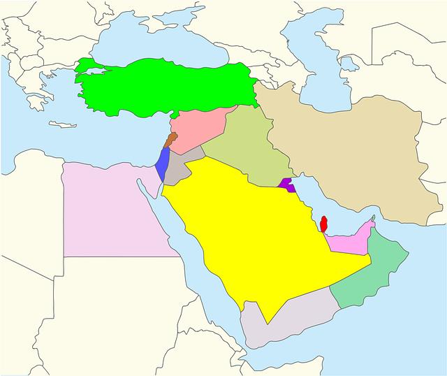 mideast map
