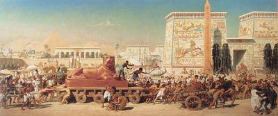 512px-1867_Edward_Poynter_-_Israel_in_Egypt