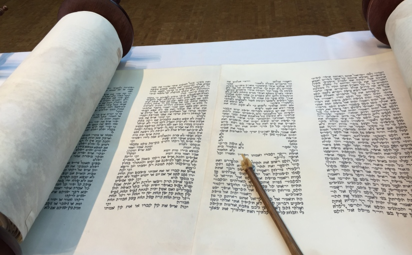 How is a Sefer Torah like a Space Shuttle?