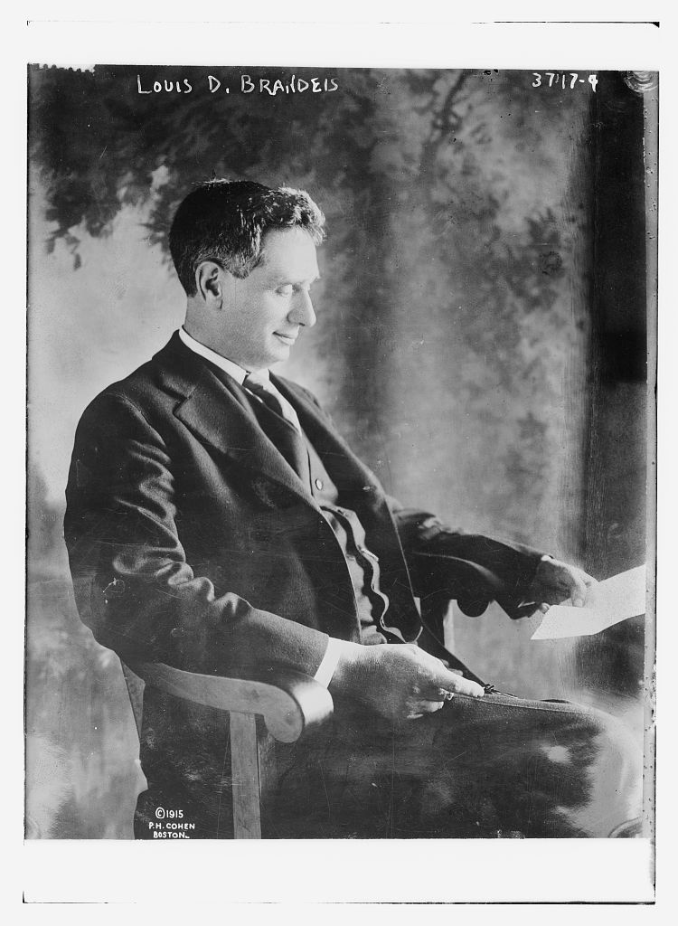 The Legacy of Justice Louis D. Brandeis | Rabbi Ed Bernstein