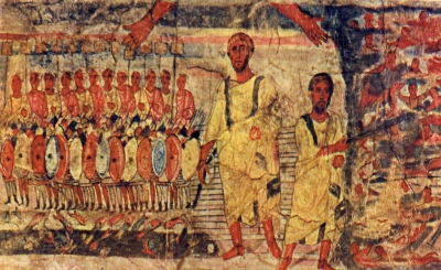 dura_europos_fresco_jews_cross_red_sea