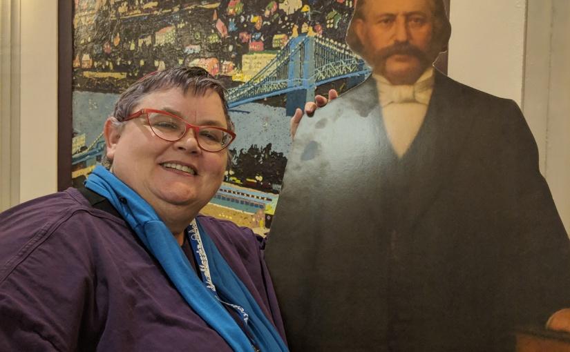 Selfie with RabbiWise!