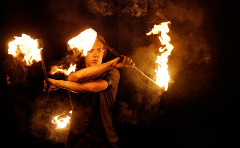 The Rabbi Who Juggled Fire