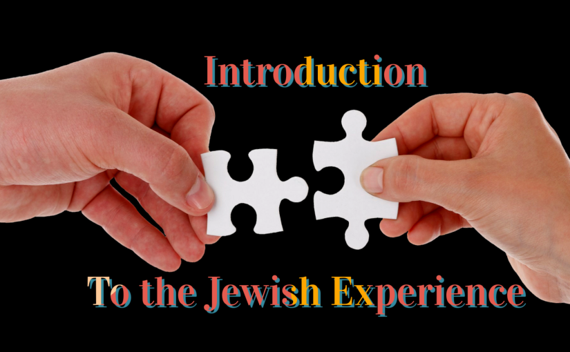 Online Class: Intro to the JewishExperience!